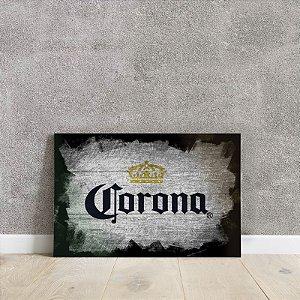 Placa decorativa da Corona