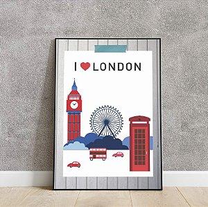 Placa decorativa i  💗 London