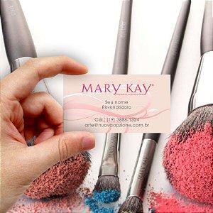 Cartão de visita Mary Kay 2 Econômico - 1000 unidades