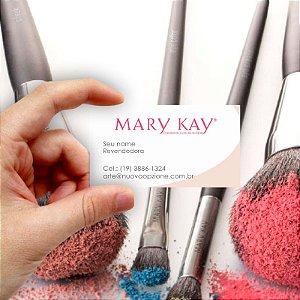Cartão de visita Mary Kay 5 Econômico - 1000 unidades