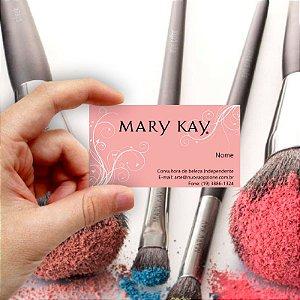 Cartão de visita Mary Kay 6 Econômico - 1000 unidades