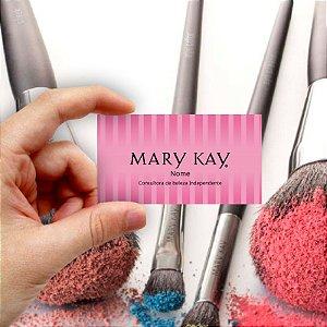 Cartão de visita Mary Kay 7 Econômico - 1000 unidades