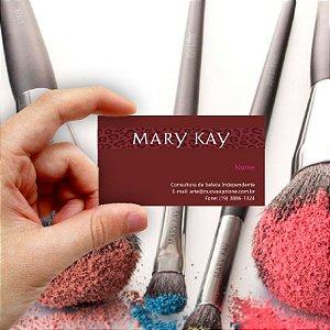 Cartão de visita Mary Kay 9 Econômico - 1000 unidades