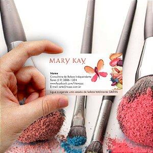 Cartão de visita Mary Kay 11 Econômico - 1000 unidades