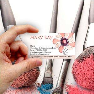 Cartão de visita Mary Kay 12 Econômico - 1000 unidades