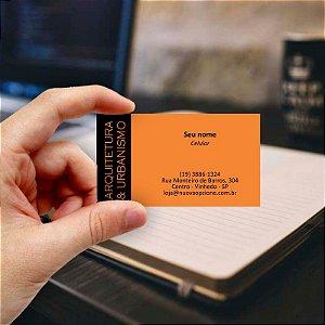 Cartão de visita para Arquiteto 2 Econômico - 1000 unidades