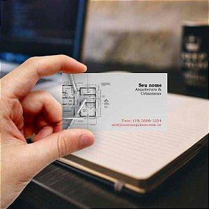 Cartão de visita para Arquiteto 7 Econômico - 1000 unidades