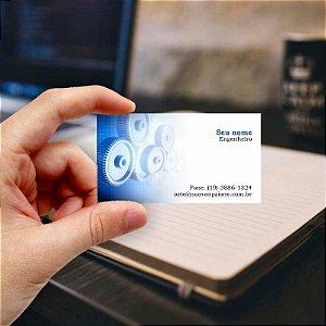 Cartão de visita para Engenheiro 5 Econômico - 1000 unidades