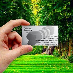 Cartão de visita para Fotógrafo 3 Econômico - 1000 unidades