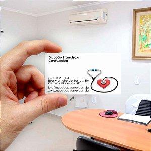 Cartão de visita para Médico 6 Econômico - 1000 unidades