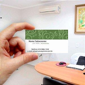 Cartão de visita para Nutricionista 5 Econômico - 1000 unidades