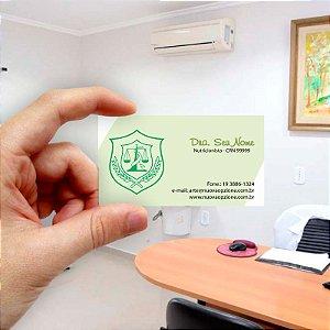 Cartão de visita para Nutricionista 8 Econômico - 1000 unidades