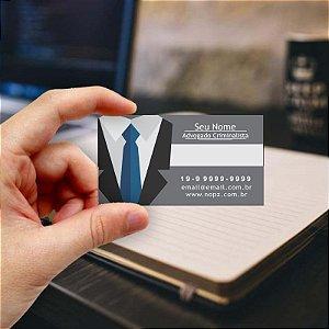 Cartão de visita para Advogado 4 - Econômico - 1000 unidades