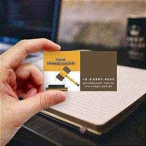 Cartão de visita para Advogado 9 - Econômico - 1000 unidades