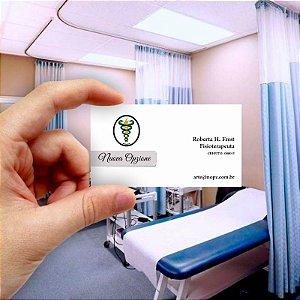 Cartão de visita para Fisioterapia 7 Econômico - 1000 unidades