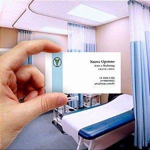 Cartão de visita para Fisioterapia 8 Econômico - 1000 unidades