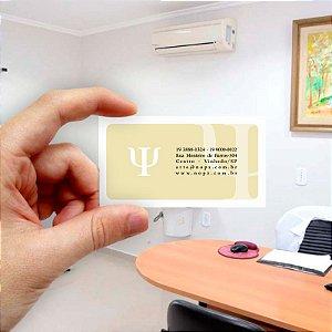 Cartão de visita para Psicologia 7 Econômico - 1000 unidades