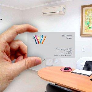 Cartão de visita para Dentista 11 - Econômico - 1000 unidades