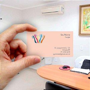 Cartão de visita para Dentista 12 - Econômico - 1000 unidades