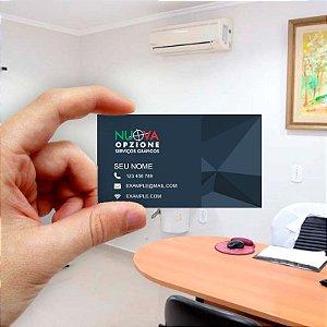 Cartão de visita para Empreendedores 5 - Econômico - 1000 unidades