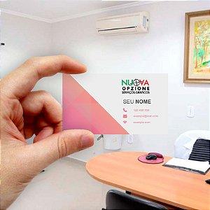 Cartão de visita para Empreendedores 8 - Econômico - 1000 unidades