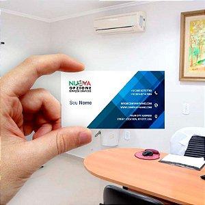 Cartão de visita para Empreendedores 9 - Econômico - 1000 unidades