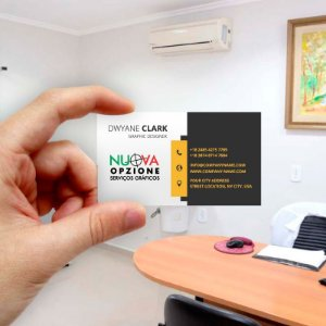 Cartão de visita para Empreendedores 23 - Econômico - 1000 unidades