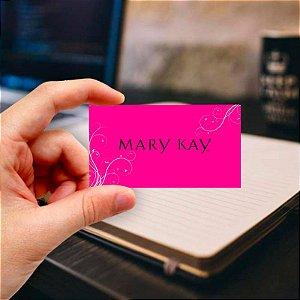 Cartão de visita Mary Kay 4 Profissional