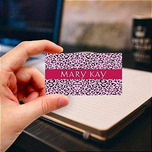Cartão de visita Mary Kay 13 Profissional