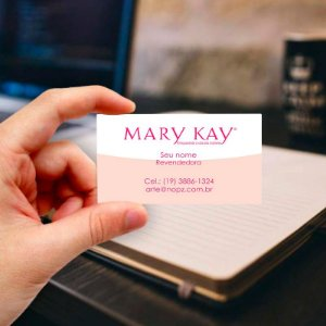 Cartão de visita Mary Kay 17 Profissional