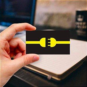 Cartão de visita para Eletricista 2 Profissional