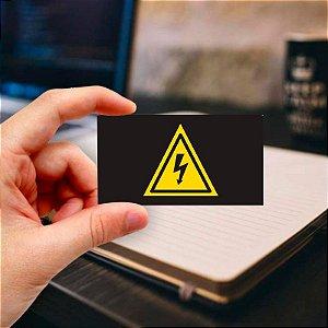 Cartão de visita para Eletricista 4 Profissional