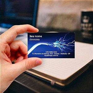 Cartão de visita para Eletricista 5 Profissional