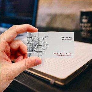 Cartão de visita para Engenharia 1 Profissional