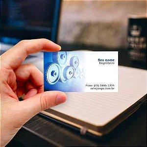 Cartão de visita para Engenharia 2 Profissional