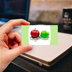 Cartão de visita para Nutricionista 2 Profissional