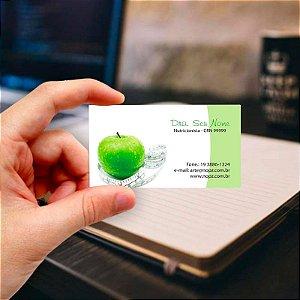 Cartão de visita para Nutricionista 3 Profissional