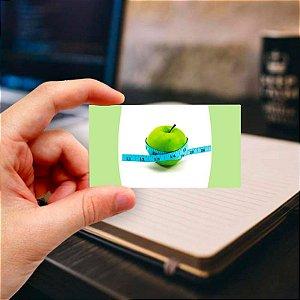 Cartão de visita para Nutricionista 4 Profissional