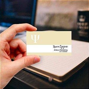 Cartão de visita para Psicologia 11 Profissional