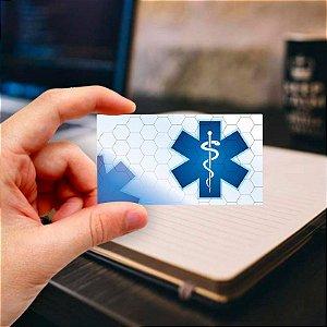 Cartão de visita para Médico 12 Profissional