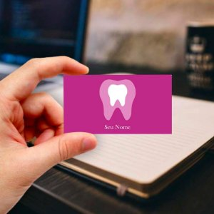 Cartão de visita para Dentista 17 - Profissional