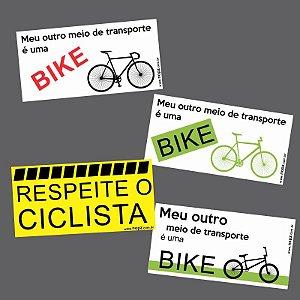 4 Adesivos Bike