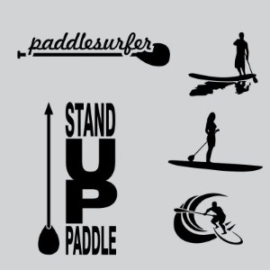 Kit Adesivos Stand Up Paddle