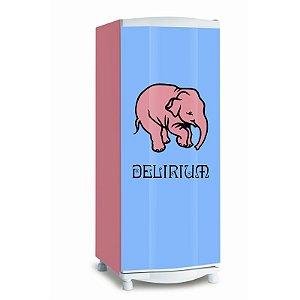 Adesivo de geladeira Delirium