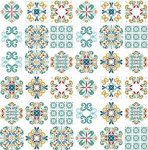 Adesivo Decorativo Azulejo - Mod 2