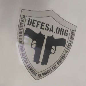 Adesivos para Vidros Defesa.org - Interno