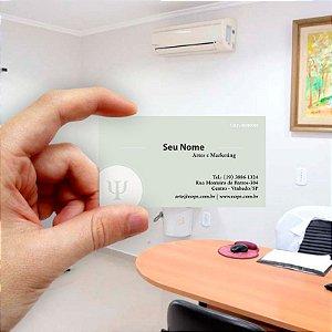 Cartão de visita para Psicologia 10 Econômico - 1000 unidades