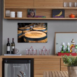Placa decorativa Whisky