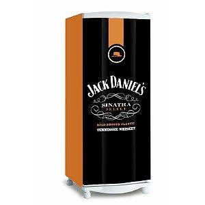 Adesivo de geladeira Jack Daniels Sinatra Selection
