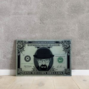 Placa decorativa Dollar